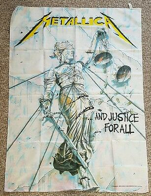 Metallica ...And Justice for All Textile Flag