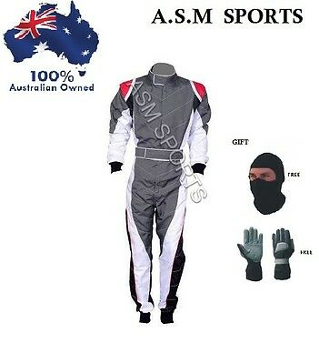 Go Kart Race Suits ( Free gifts included )