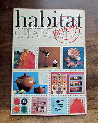 Habitat FIRST mail order catalogue 1969 vintage Creative Living by post