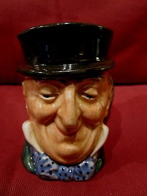 Wonderful Retired Royal Doulton Character Jug Mr. Micawber Style One