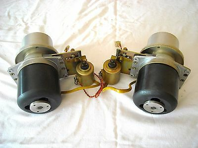 Studer A80 2 inches pair of Spooling Motors  and Brakes / Complete Ready to use