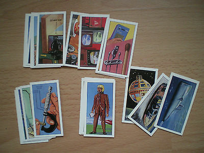 Collection Of Science In The 20Th Century Tea Cards - Choicest Tips Tea