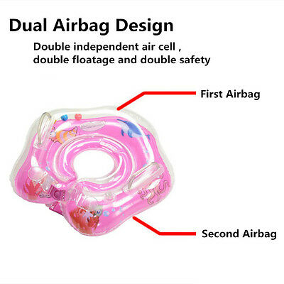 Baby Kids Inflatable Water Collar Necklet Pool Float Safety Aid Fun Trainer
