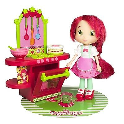 """Strawberry Shortcake - Berry Cafe - incl. 6"""" Strawberry Shortcake Doll & acce..."""