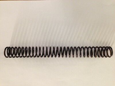 Compression Spring. Length 224mm. I.D 14mm. 2mm Thick. 37 Coils. Steel.