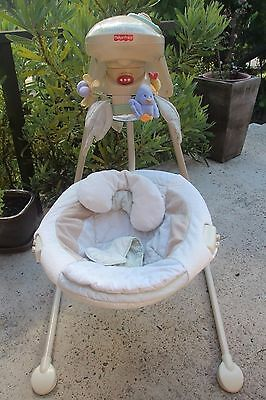 Fisher Price 'Nature's touch' Papasan Baby Swing