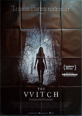 2016 THE WITCH Anya Taylor-Joy HORROR 47x63 French movie poster