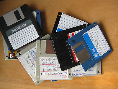 12 x HD floppy disks .FORMATTED No3