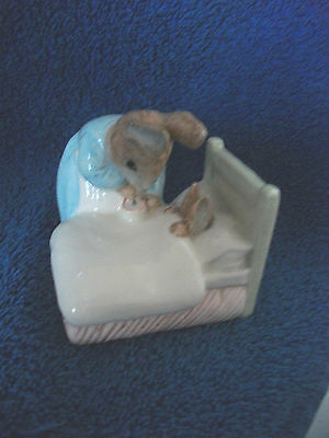 Beatrix Potter Bp6A Peter In Bed 2Nd Quality