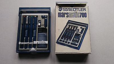 NEW staedtler mars matic 700 set with 4 technical pens pennini china