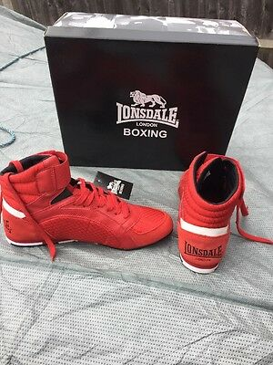 Lonsdale Boxing Boots Size 7 New