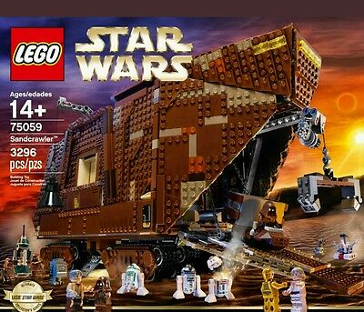 lego  star wars sandcrawler boxed and complete