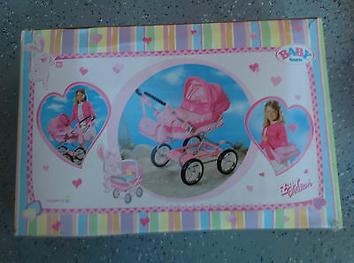 Baby Born Zapf Creations Pram *Extremely Rare* *Brand new in box*