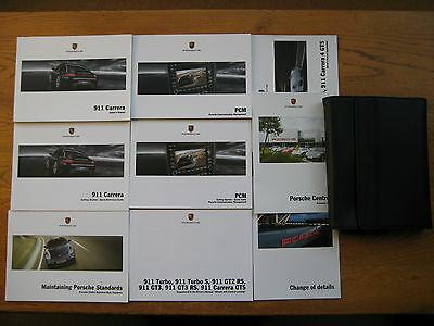 Porsche 911 Owners Handbook/Manual and Pack 09-12