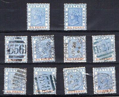 Gold Coast SG14 mint and used stamps