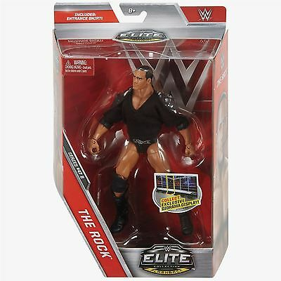 The Rock (Flashback) with Entrance Shirt - Elite Series 47.5 - WWE Action Figure