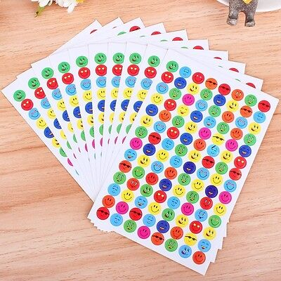 Teacher Reward Stickers Smiley Faces Merit Stickers