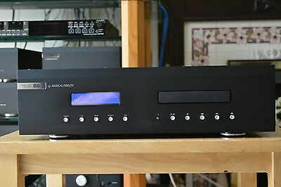 Musical Fidelity M6CD CD Player  with Box, Remote and Manual