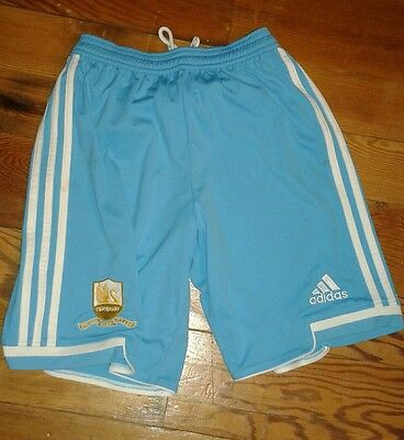 Mens size xs adidas Swansea city afc centenary turquoise football shorts