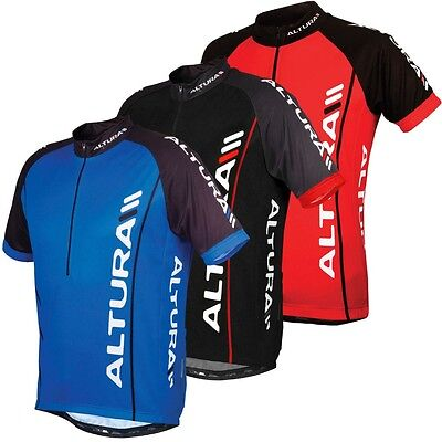 Altura Cycling Jersey/Top - Men's Small - Red and Black