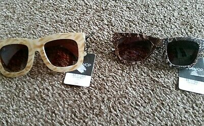 Top Shop Ladies Sunglasses. New With Tags