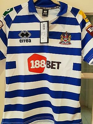 Wigan Warriors Rugby League Away Shirt Small Bnwt