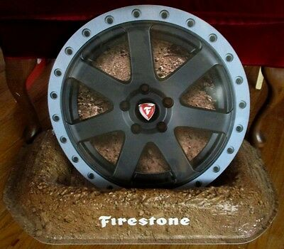 Way Cool FIRESTONE TIRES DEALER DISPLAY....L@@K!