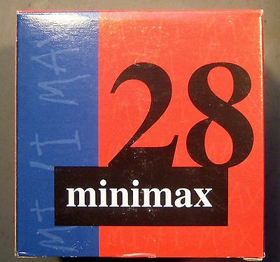 Empty Minimax 28  1 Pc. 12 ga. Shot Shell Box.