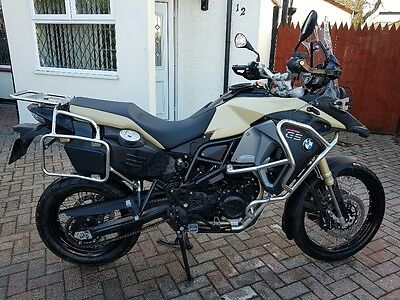 Bmw F800 Gs Adventure Te Motorbike 2014
