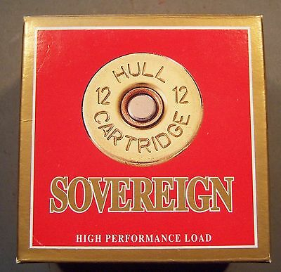 Empty Sovereign  1 Pc. 12 ga. Shot Shell Box.