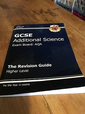 GCSE AQA Additional Science - The Revsion Guide Higher Level