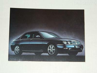 ROVER 75  post card