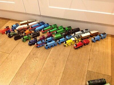 Collection of over 30 Thomas the Tank Engine trains