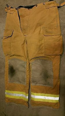 38x30 Lion Apparel Pants FIREFIGHTER TURNOUT Bunker Gear Nomex Liner #32