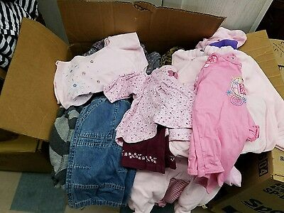 10 lb Wholesale Mixed Clothing Lot of Men's Women's Kids Random Bulk for Resale