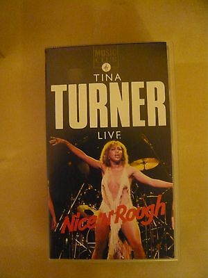TINA TURNER LIVE Nice N Rough (VHS)