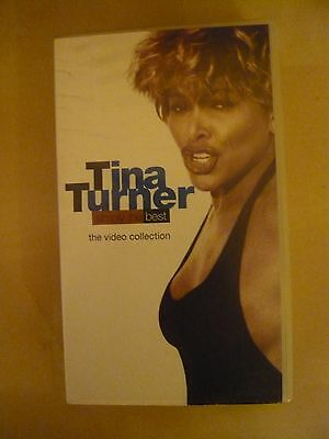 TINA TURNER Simply The Best - The Video Collection (VHS)