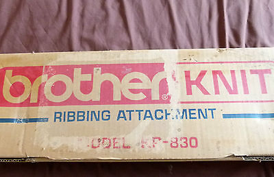 Brother Kh 830 Ribber Attachment