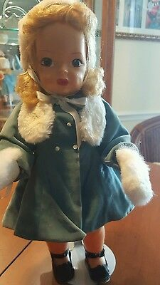 """Terri lee  16"""" Doll with Boxed Velveteen  Coat Set with Box"""