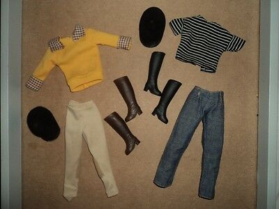 sindy vintage pedigree horse riding outfits X 2