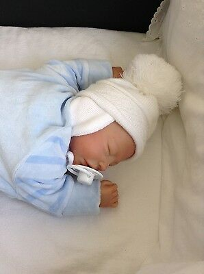 Reborn,Sleeping,Baby Boy,Christopher From Catherine's Reborn Babies,