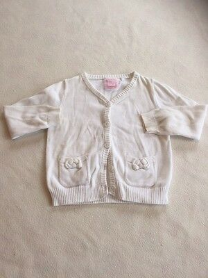 Baby Girls Clothes 12-18 Months  -Pretty Cardigan -