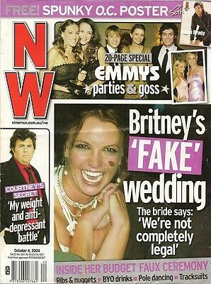 Britney Spears Rare Vintage Import Magazine Cover Clipping Music Celebrity 42