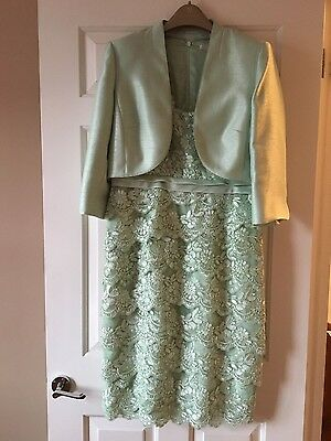 Petite Jaques Vert Mother of the Bride  outfit