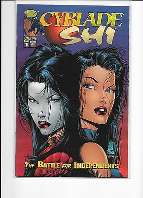 Cyblade / Shi -#1 - The Battle For Independents - 1St Witchblade - Mint