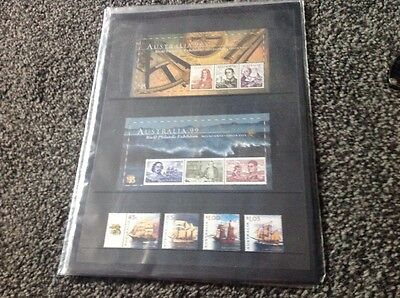Large collection of Australian stamps