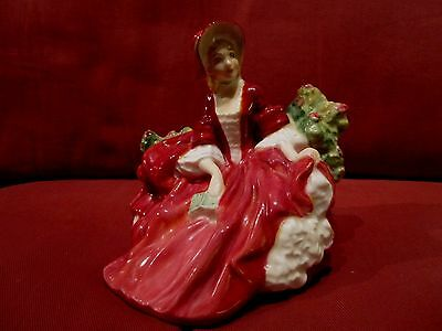 Beautiful Retired Royal Doulton Figurine Lydia Hn1908 Red Version