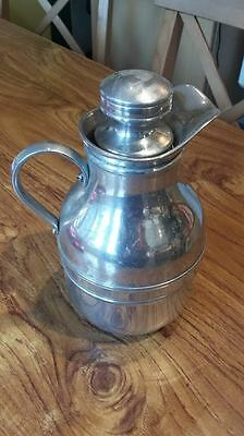 Vintage Chrome Plated Thermos Flask