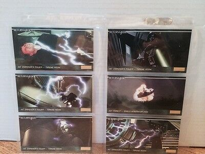 1995 Topps Star Wars Widevision Trading Cards JEDI