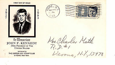 1246 5-cent JFK Kennedy FDC First Day May 29, 1964
